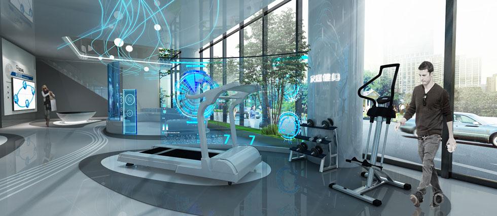 有线业务体验展示厅设计