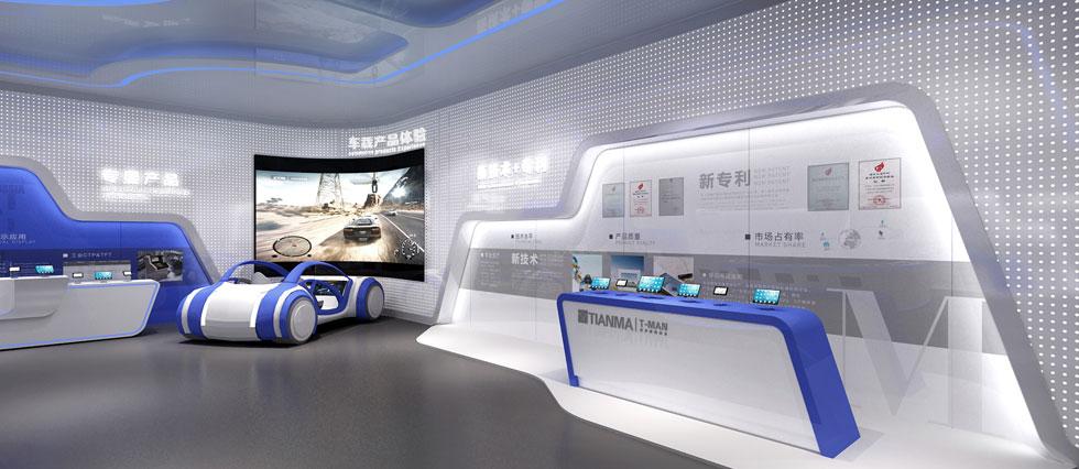 天马微电子展厅设计