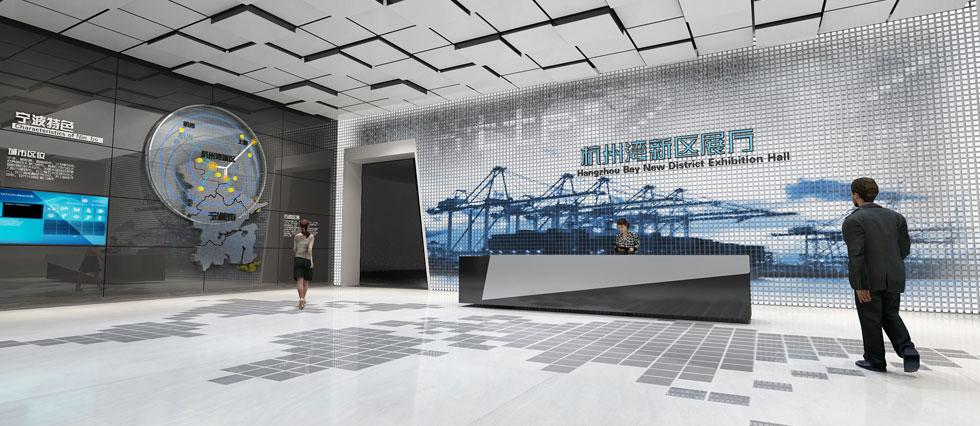 杭州湾新区展厅设计