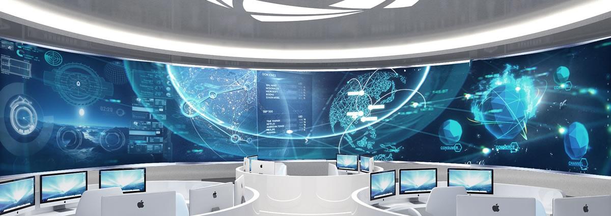 协鑫未来能源馆展厅设计