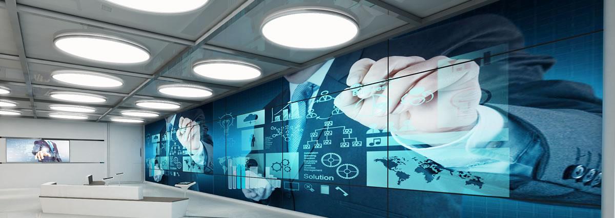 中软国际西安展厅设计