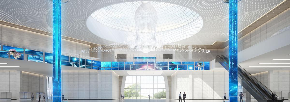 德阳通航小镇展厅设计